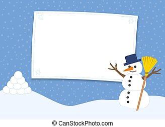 amusement, bonhomme de neige, boule de neige, boules neige, baston, préparer