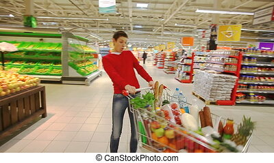 amusement, centre commercial, achats