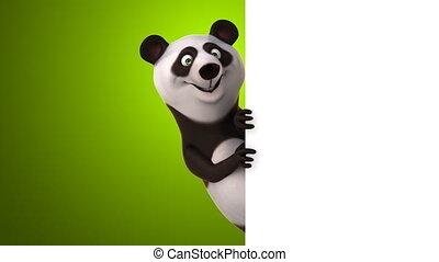 amusement, panda