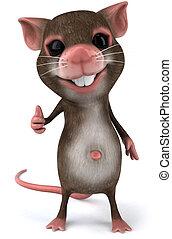 amusement, souris