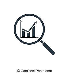 analitics, icône