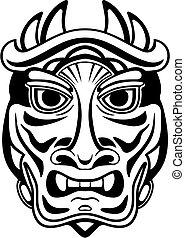 ancien, masque
