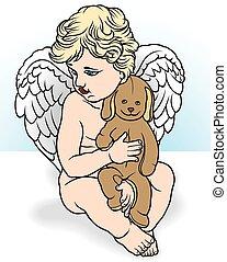 ange, avoir a bourré animal