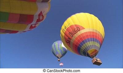 angle, air, chaud, ws, bas, ballons