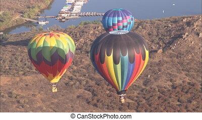 angle, balloon, air, élevé, chaud, ws