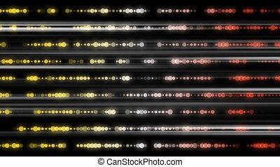animation, lumière, futuriste, vidéo, raie, boucle, technologie, 1080p, hd