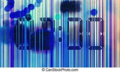 animation, résumé, lignes, coloré