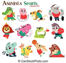animaux, sports
