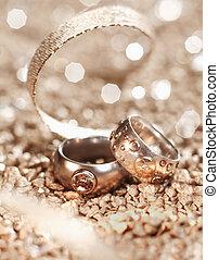 anneaux, luxe