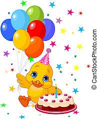anniversaire, duckling's