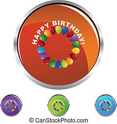 anniversaire, heureux