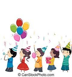 anniversaire, parade