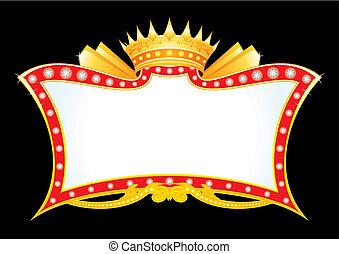 annonce, royal