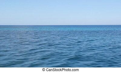 antilles, voyage, sea., sur