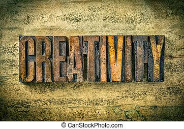 antiquité, blocs, letterpress, -, impression, créativité, bois, type