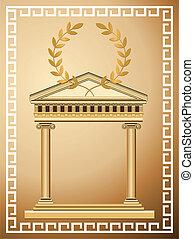antiquité, grec, fond