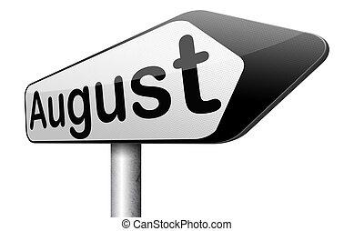 août, suivant