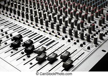 appareil de contrôle, audio
