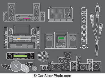 appareil, musique