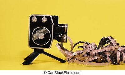 appareil-photo., film appareil-photo, film, retro, shoots.
