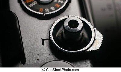 appareil photo, retro