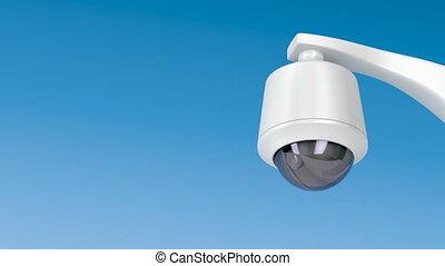 appareil-photo sécurité, dôme