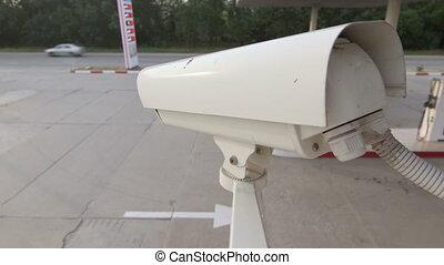 appareil-photo sécurité, système, surveillance