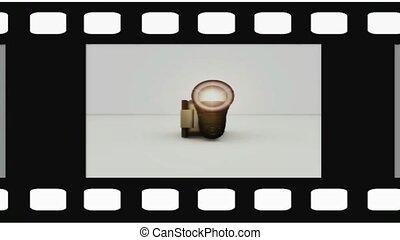 appareil photo, vidéo, pellicule