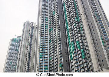 appartement, hk, classe, cheong, milieu, nam