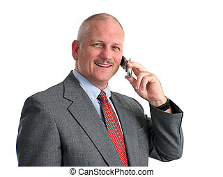 appel téléphonique, heureux