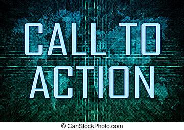 appeler, action