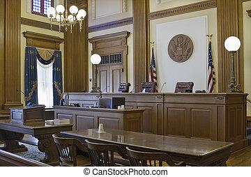 appels, 2, tribunal, salle audience