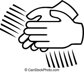 applaudir, signe, -, applaudissements, mains