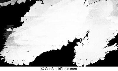 application, acrylique, surface, peinture, 1920x1080, blanc, hd
