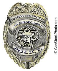 application, droit & loi, écusson, police