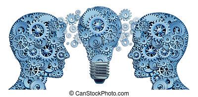 apprendre, plomb, stratégie, innovation
