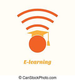 apprentissage, ligne