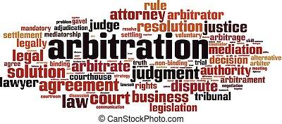 arbitrage, mot, nuage