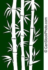 arbre, bambou