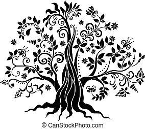 arbre, fantaisie