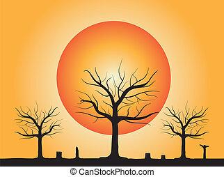 arbre mort, talon