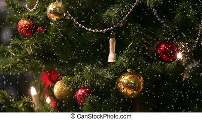 arbre, noël, jouets
