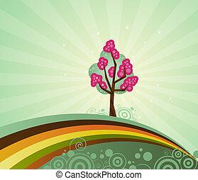 arbre, particulier