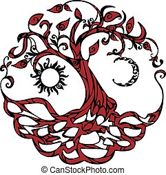 arbre, vie