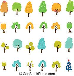 arbres, signes