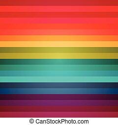 arc-en-ciel, résumé, coloré, raies, fond