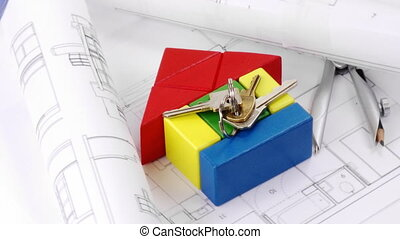 architecture, composition, tourner