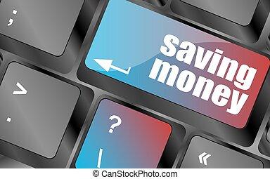 argent économie, bouton, clavier, bouton, vecteur, vecteur, clã©, informatique, investissement