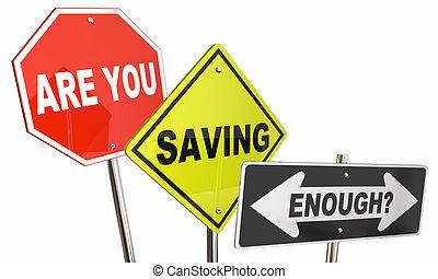 argent économie, budget, illustration, assez, planification, signes, financier, vous, 3d