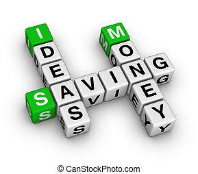 argent, économie, idées, mots croisés